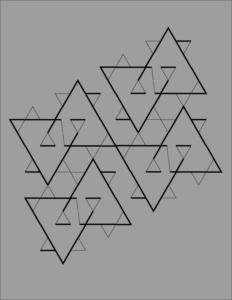 Constellation - Pattern Variation B, Leandra Eibl