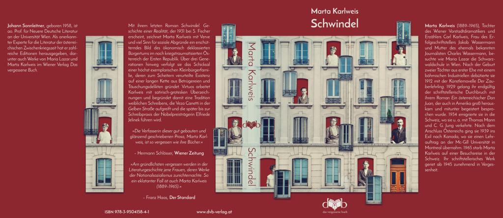Schwindel Book Cover Leandra Eibl for DVB Verlag