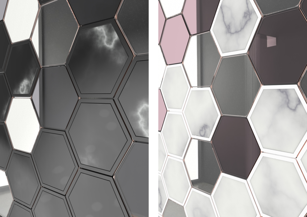 Hexawall - Customizable Room Divider - Leandra Eibl