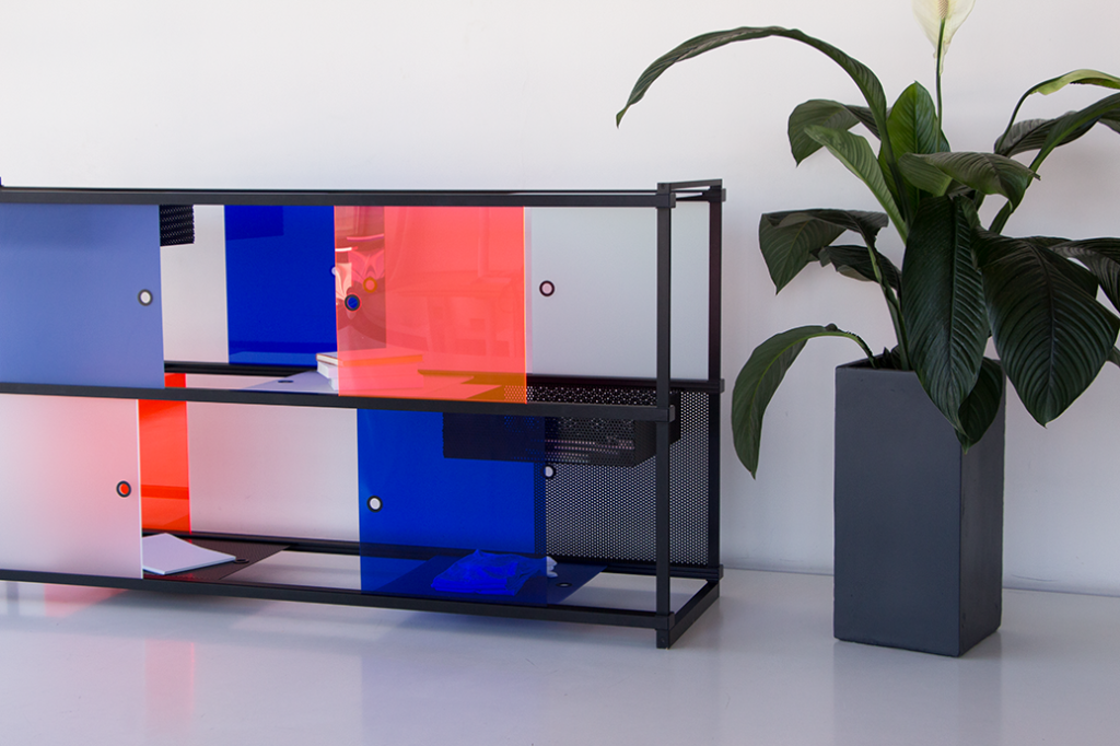 Wanderlust - Composable Cabinet by leandra Eibl